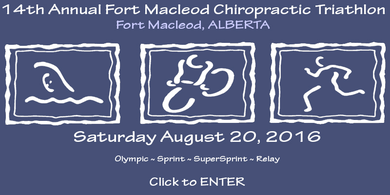 Fort Macleod Chiropractic Triathlon